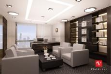 Thiết kế thi công nội thất văn phòng tại LOTTE