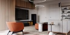 Tham khảo thiết kế căn hộ hiện đại 120 mét vuông